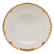 "Princess Victoria Rust Dessert Plate - Rust 8.25""D"