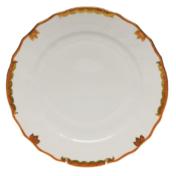 "Princess Victoria Rust Dinner Plate - Rust 10.5""D"