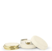 AERIN CREAM S4 COASTERS