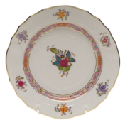 "Chinese Bouquet Multi Bread & Butter Plate  6""D"