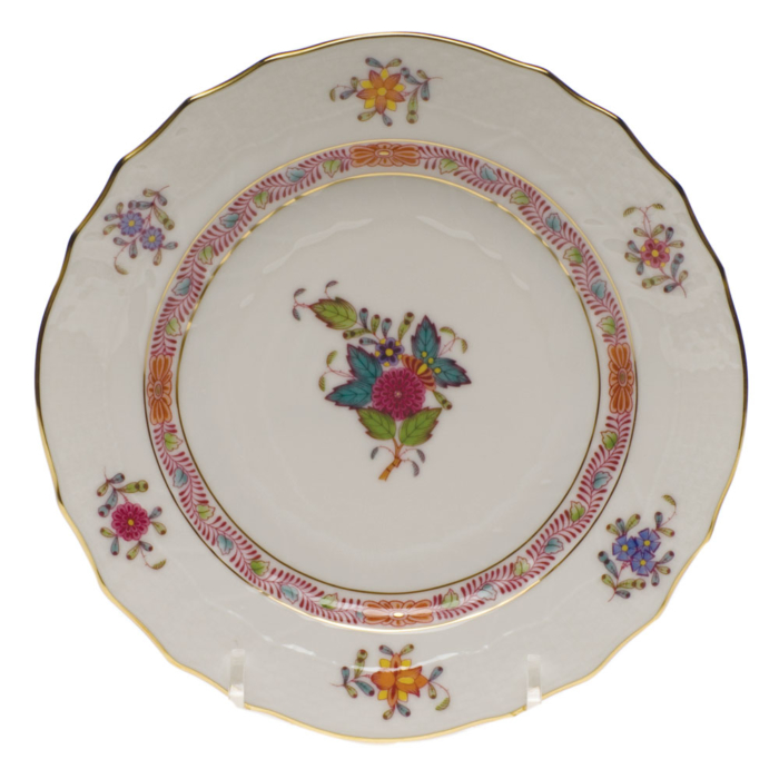 """Chinese Bouquet Multi Bread & Butter Plate  6""""D"""
