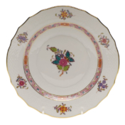 "Chinese Bouquet Multi Salad Plate  7.5""D"