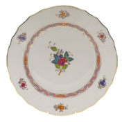 "Chinese Bouquet Multi Dinner Plate  10.5""D"