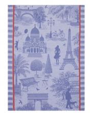 Scenes of Paris tea towel