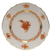"Chinese Bouquet Rust Bread & Butter Plate  6""D"