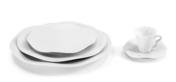 Gala Blanc Dessert Plate