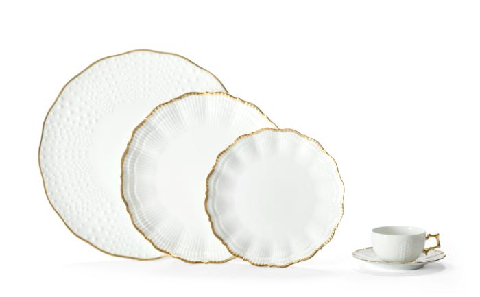 Corail Or Dessert Plate