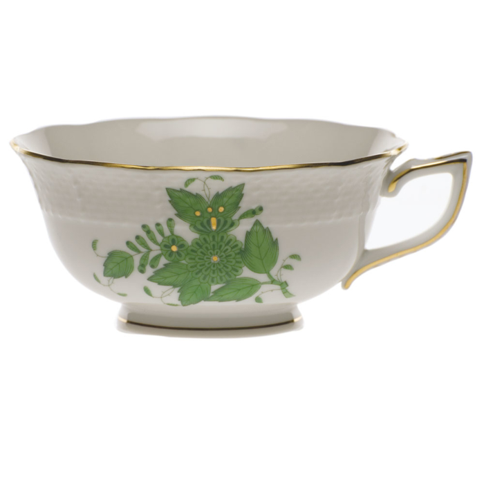 Chinese Bouquet Green Tea Cup  (8 Oz)
