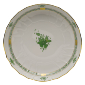 "Chinese Bouquet Green Open Veg Bowl  10.5""D"