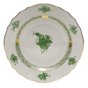 "Chinese Bouquet Green Salad Plate  7.5""D"