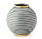 Aerin Calinda Round Vase, Shadow