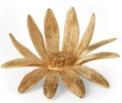 Aerin Marguerite Brass Flower