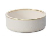 Aerin Shagreen Wine Coaster Cream