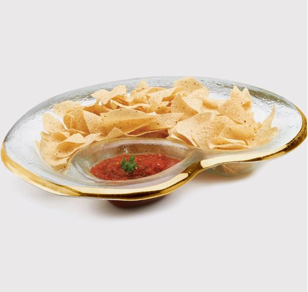 Annie Glass Chip and Dip