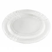 "Vecchio Ginori White 13"" oval platter"