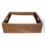 Matahari rectangular tray with cut out handles