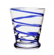 BELLA BLUE OLD FASHIONED TUMBLER