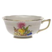 Fruits & Flowers Tea Cup  (8 Oz)