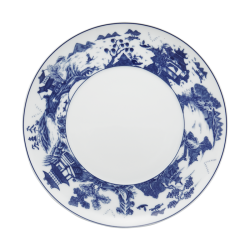 Blue Shou Dessert Plate