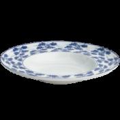 Blue Shou Rimmed Pasta