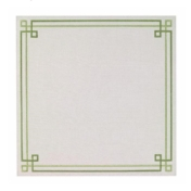 Bodrum Green Link Placemats