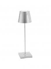 Poldina Silver Leaf Lamp