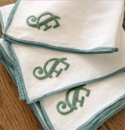 Color Edge Dinner Napkin