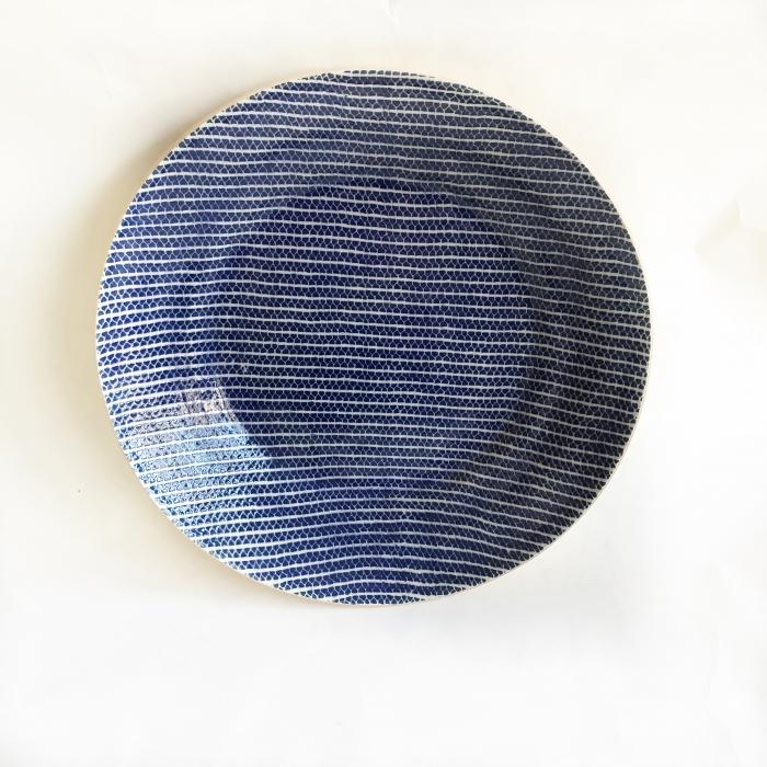 Flared Bowl Strata Cobalt