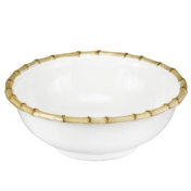 classic bamboo serving bowl