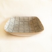 Square Bowl Deco Charcoal