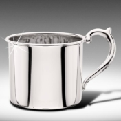 Sterling Silver Straight Baby Cup