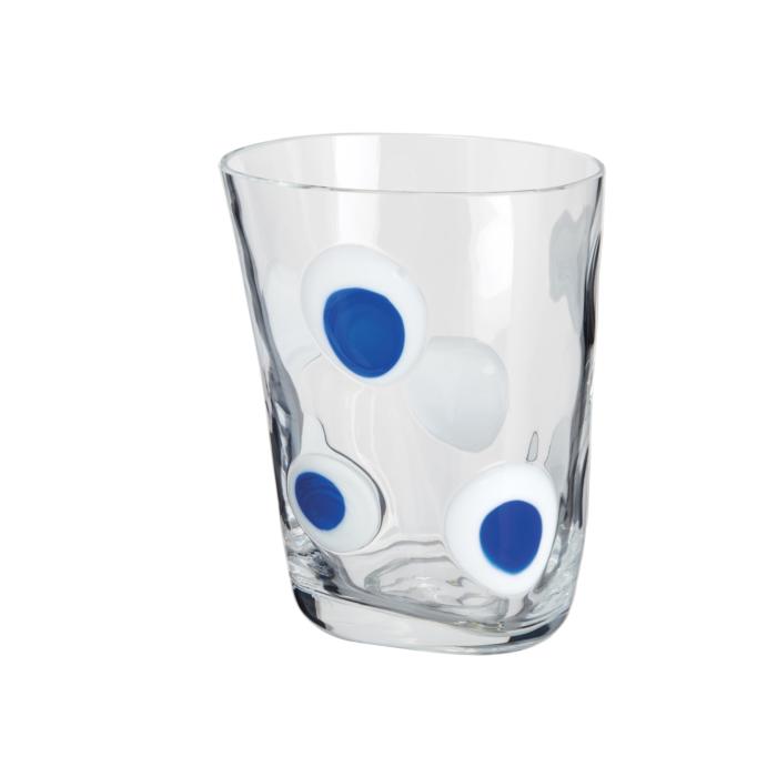 Carlo Moretti Blue white Dot Bora