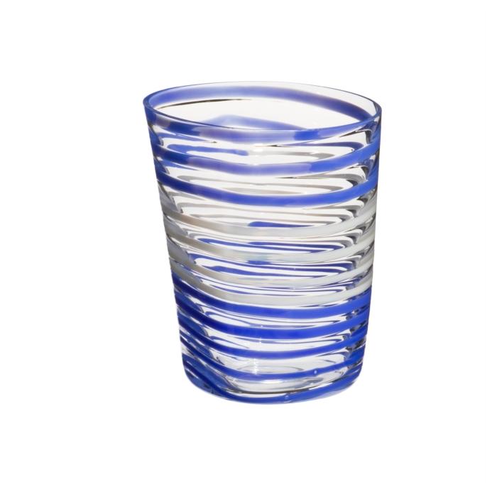 Carlo Moretti Bora Glass bl wht