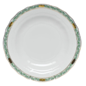 Chinese Bouquet Garland Dessert Plate Green Herend