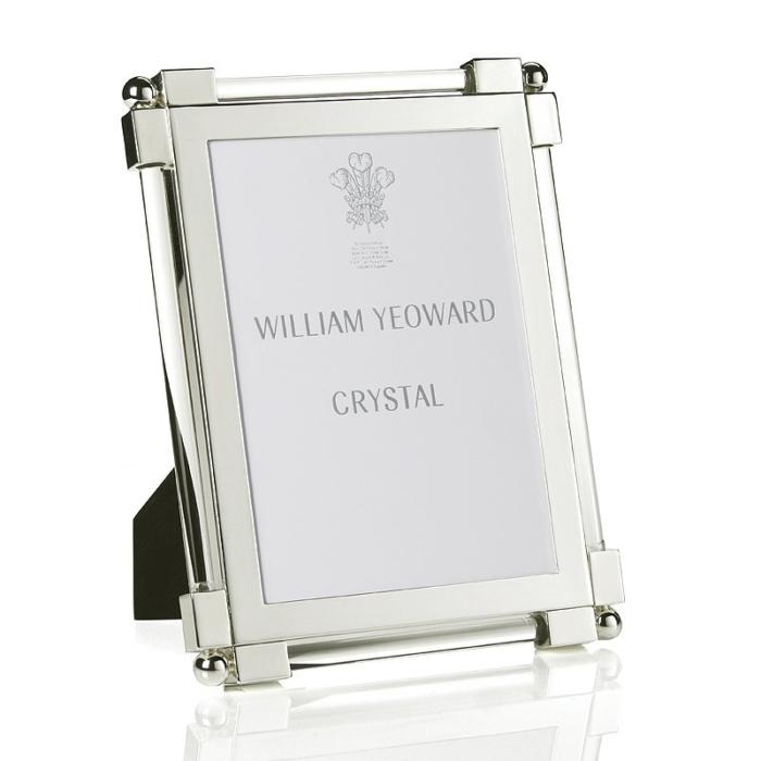 William Yeoward Classic glass clear 5x7 frame