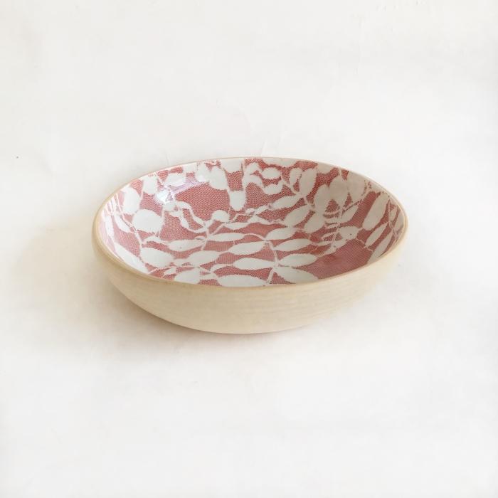 Terrafirma Ceramics 8 inch Bowl Aspen Poppy