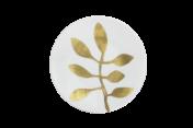 Daphne White Dessert Plate