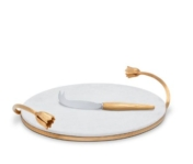 Deco Leaves Cheese Serving Set
