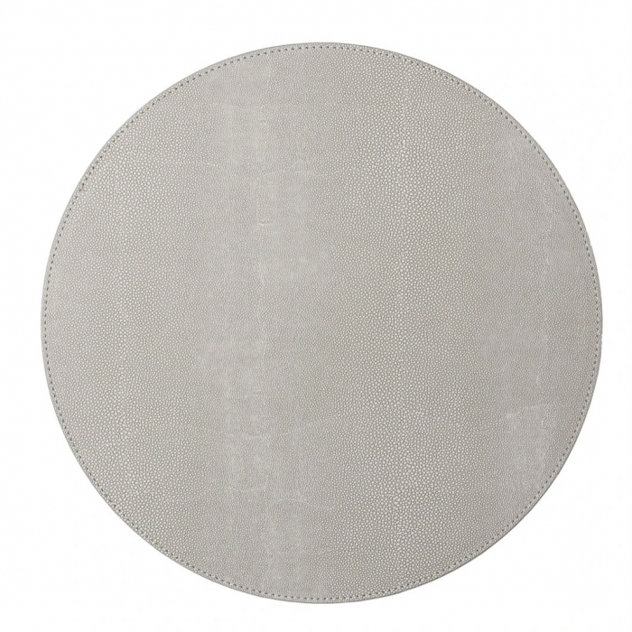 Shagreen Placemat in Elephant