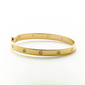 Gold & Diamond Eternity Bracelet
