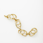 18kt yellow gold bracelet