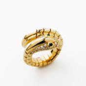 18kt Gold Serpent Ring