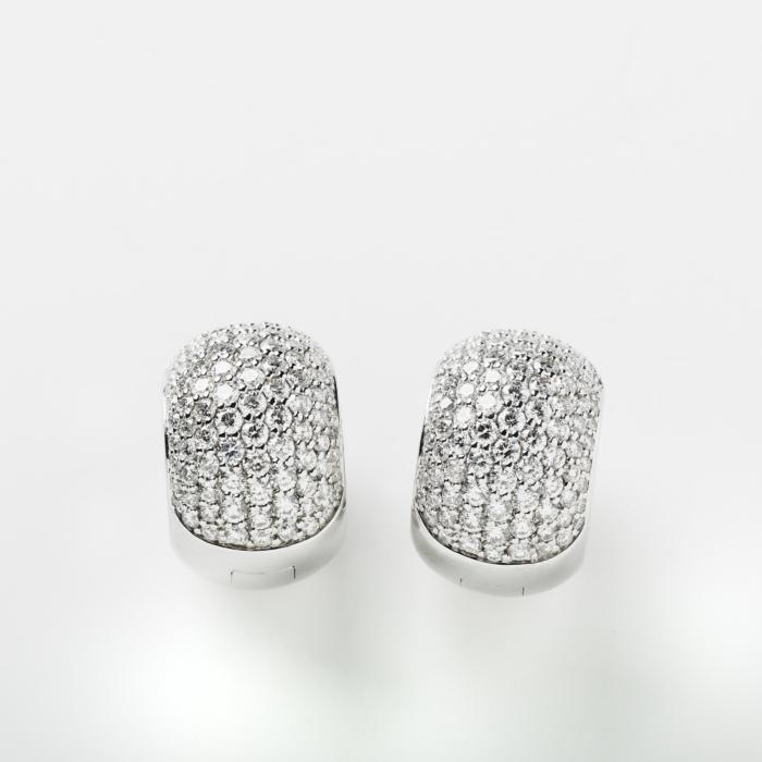 Large Diamond Huggies