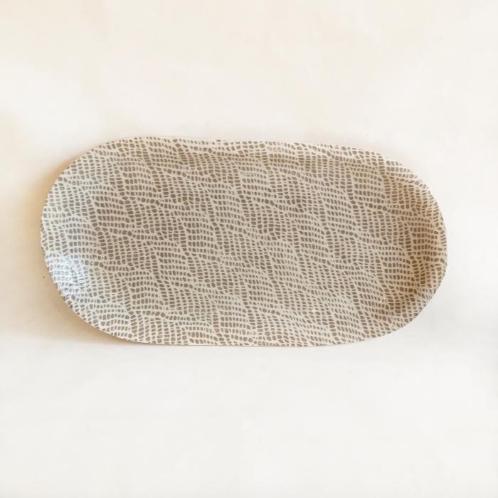 Small Fish Platter Braid Mocha