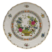 "Indian Basket Bread & Butter Plate  6""D"