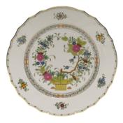 """Indian Basket Dinner Plate  10.5""""D"""