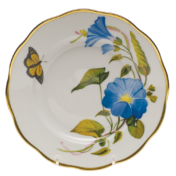 "Amer Wildflower-Mg Salad Plate  - Morning Glory 7.5""D"