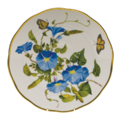 "Amer Wildflower-Mg Dinner Plate  - Morning Glory 10.5""D"