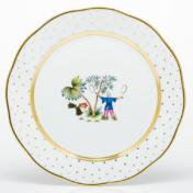 Herend Asian Garden Dinner Plate