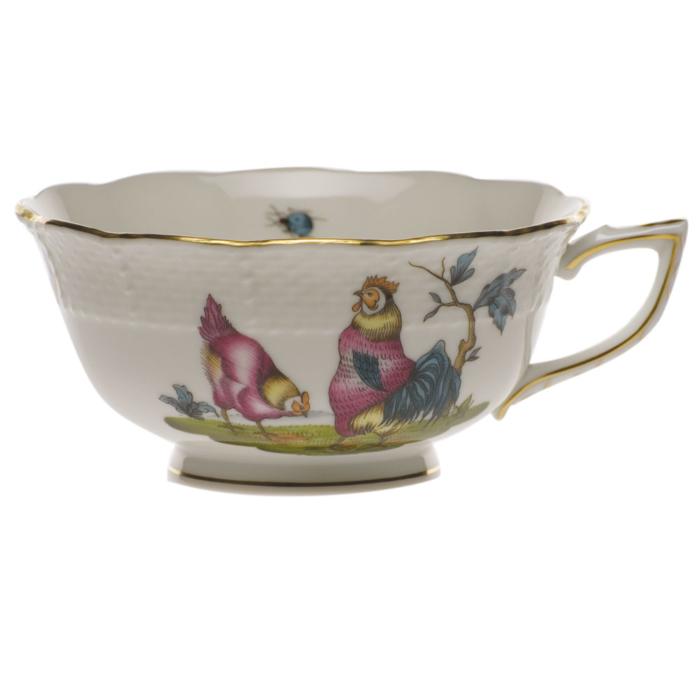 Chanticleer Tea Cup - Motif 02 (8 Oz)